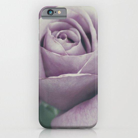 Rose in violet iPhone & iPod Case