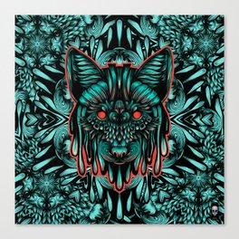 Fox Color Canvas Print