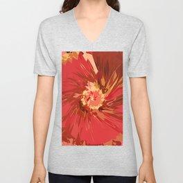 Fall Flower Unisex V-Neck