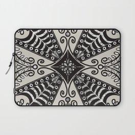 Gothic Romantic Tile Laptop Sleeve