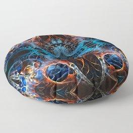 Extraterrestrial Shapeshifter S1 Floor Pillow