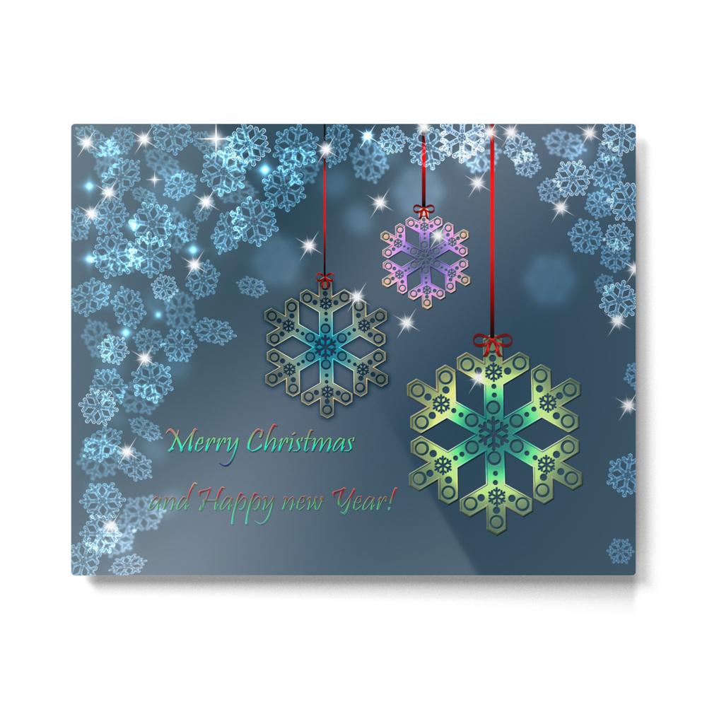 Christmas._Gifts_._Metal_Print_by_fuzzyfox85