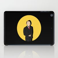 tintin iPad Cases featuring Tintin style Mycroft by thediogenes