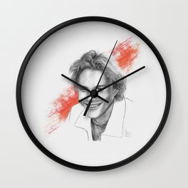 Heath Ledger Wall Clock