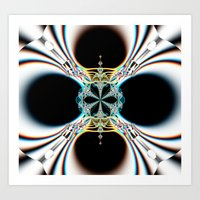 mod Art Prints featuring mod by Maureen Popdan