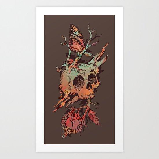 Mors et Natura Art Print