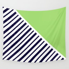Lime & Stripes Wall Tapestry