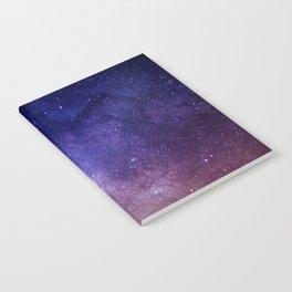 STARS - NIGHT - GALAXY - PURPLE - PINK - INDIGO Notebook