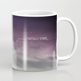 PARTIALLY STARS Coffee Mug