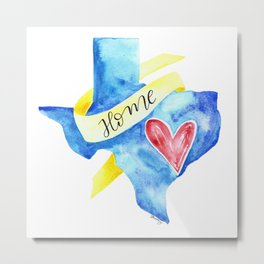 Texas: Home Metal Print