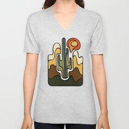 Desert Sun Unisex V-Neck
