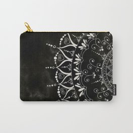 'If You Can't Control it Let it Go' Quote Mandala Carry-All Pouch