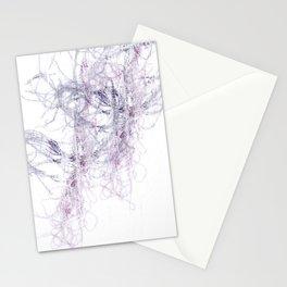 Threaded fibres Stationery Cards