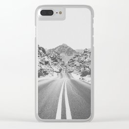 ROAD TRIP / Valley of Fire, Nevada Clear iPhone Case