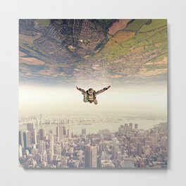 Diving to the Parallel Worlds Metal Print