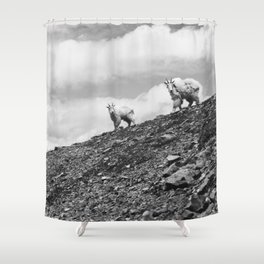 MOUTAIN GOATS // 2 Shower Curtain