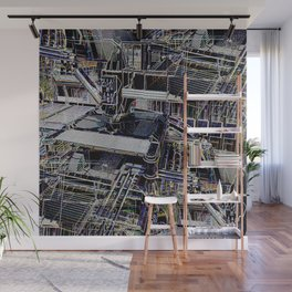 Over-Engineered Wall Mural