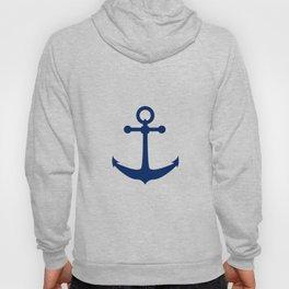 AFE Nautical Navy Ship Anchor Hoody