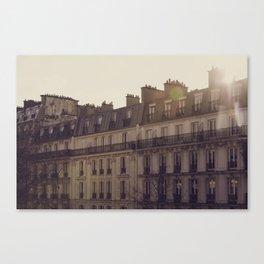 Paris Sunrise Canvas Print