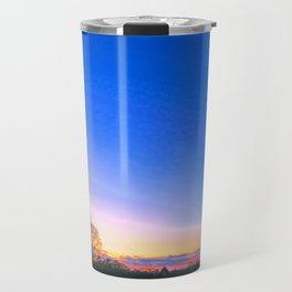 Sunset Over Norwich, U.K Travel Mug