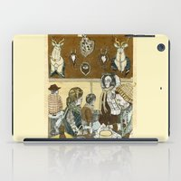 cafe iPad Cases featuring Taxidermy Cafe by CHAR ODEN