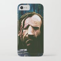 the hound iPhone & iPod Cases featuring THE HOUND by Chewgowski