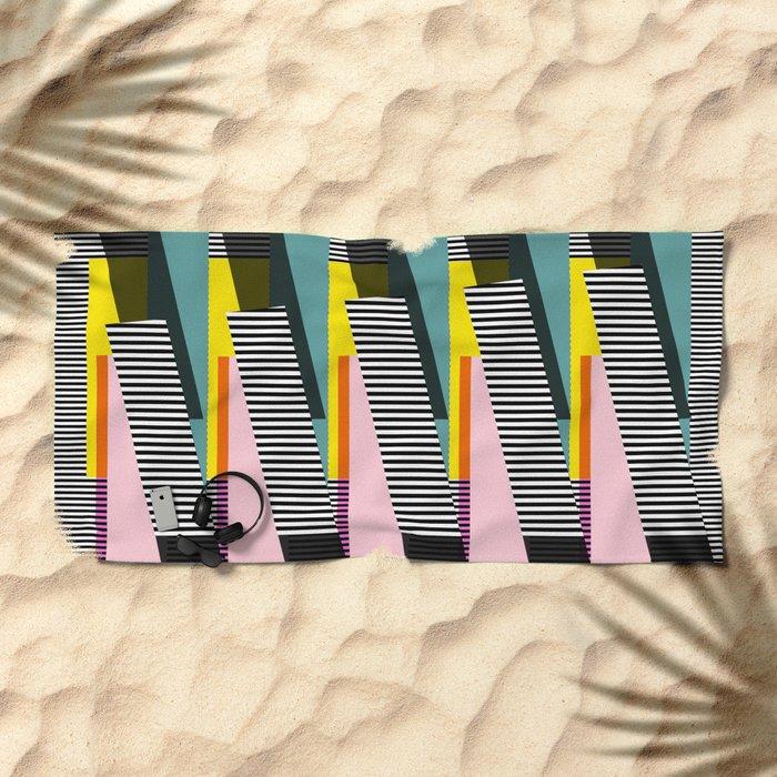 Stripped Beach Towel