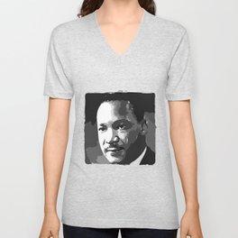 Martin Luther King Portrait Unisex V-Neck