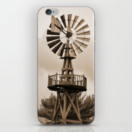 Power Wind Mill iPhone Skin