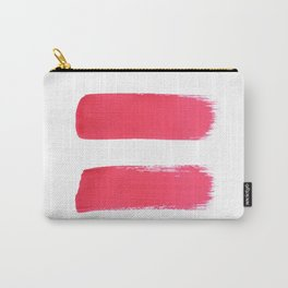One human kind - Pink Equality Carry-All Pouch