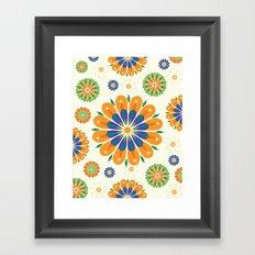 Flowersparkle Framed Art Print