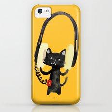 I Love Huge Headphone iPhone 5c Slim Case