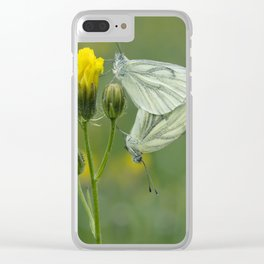 Butterfly Love Clear iPhone Case