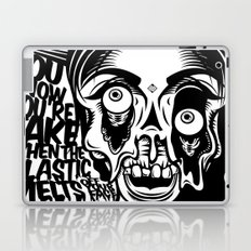 You know you're fake. Laptop & iPad Skin