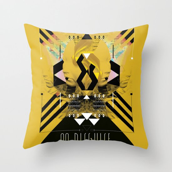 ::No Disguise:: Throw Pillow