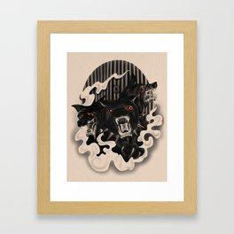 Lasciate ogne speranza (Dark Familiars Series #1) Framed Art Print