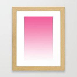 Pink Ombre  Framed Art Print
