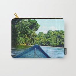 Boat on the Amazonian River Carry-All Pouch