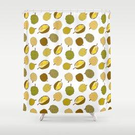 Durian Fruit Shower Curtain