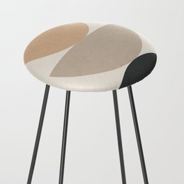 Geometric Modern Art 31 Counter Stool