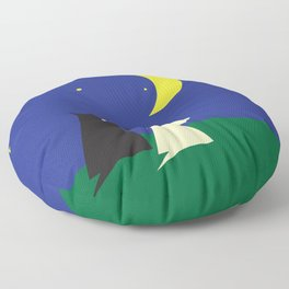 Scottie's Night Floor Pillow