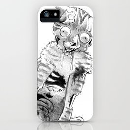 Zombie Kitty iPhone Case