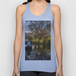 An Autumn Afternoon At Hungerford Unisex Tank Top