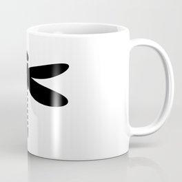Bugs: abstract Dragonfly Coffee Mug
