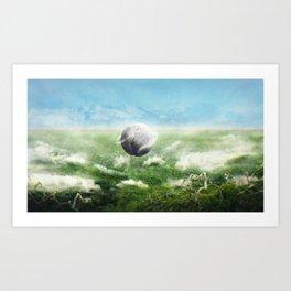 Adagio Pour Cordes Art Print