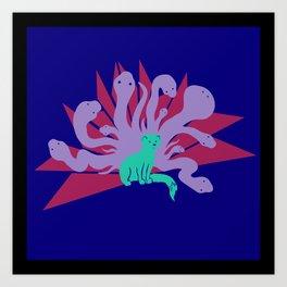 Life of a Mongoose Art Print
