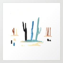 the desert II Art Print