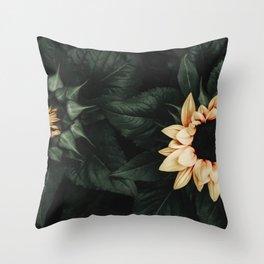 Sunflower Duo Throw Pillow