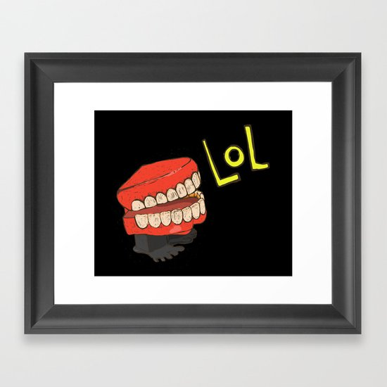 lol Framed Art Print