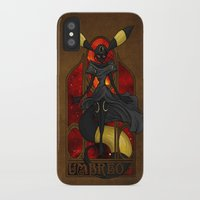 """umbreon iPhone & iPod Cases featuring Rule 63: Umbreon by Barbora """"Mad Alice"""" Urbankova"""
